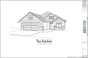 Simple Dream House Drawing Modern Garage Cottage Blueprints By