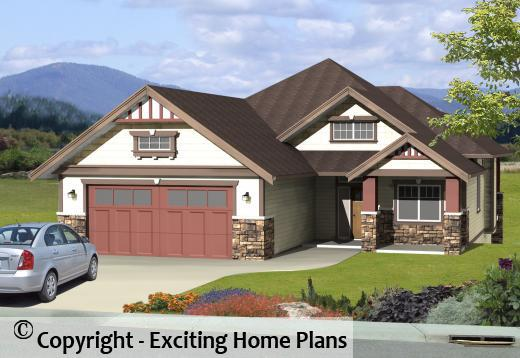 modern house garage dream cottage blueprints by