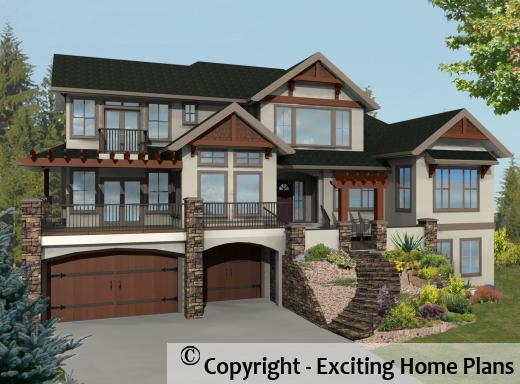 Corona - 2 Storey Walkup Design - Front View of House