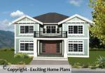 Balmoral - 2 Storey Design - Front View of House