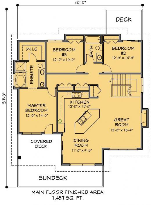 House Plans Grade Level Entry House And Home Design