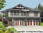 Emery - Carriage House – Building Plans Front View of House