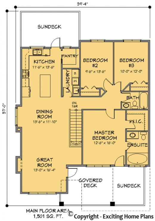 Grade Entry House Plans