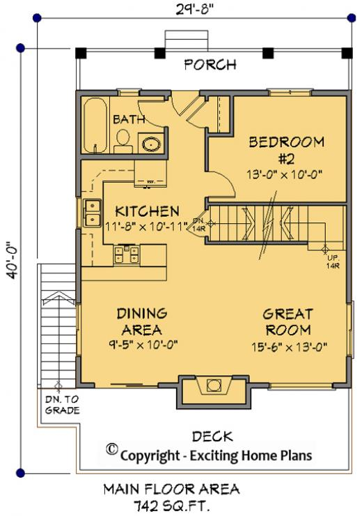 House plan information for e1114 10 for Icf home design software