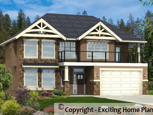 grade level entry house plan