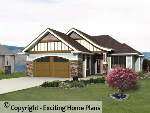 modern house, garage \u0026 dream cottage blueprints by exciting home plans