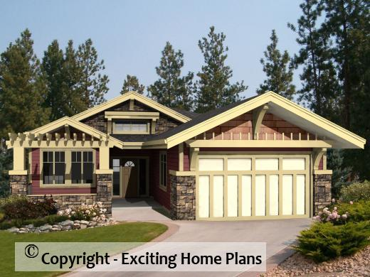 Amazing Appalachian   Bungalow   Home Plan