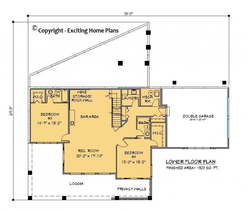 Modern House Garage Amp Dream Cottage Blueprints By