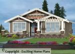 Clairemont - Bungalow Home Design - Front View of House