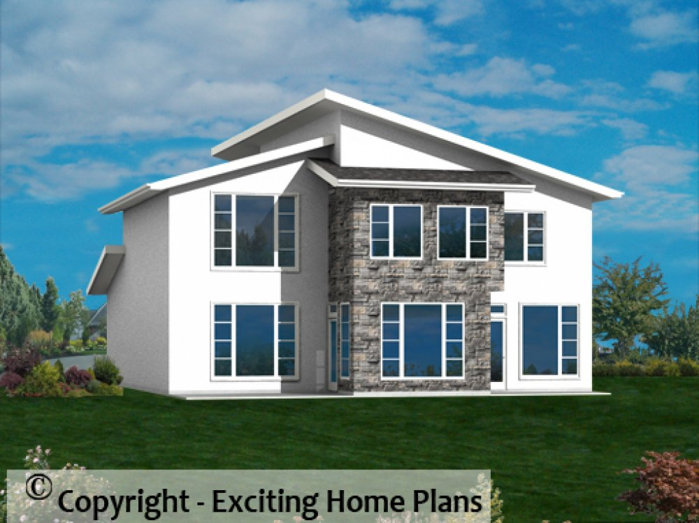 Modern House, Garage & Dream Cottage Blueprints By
