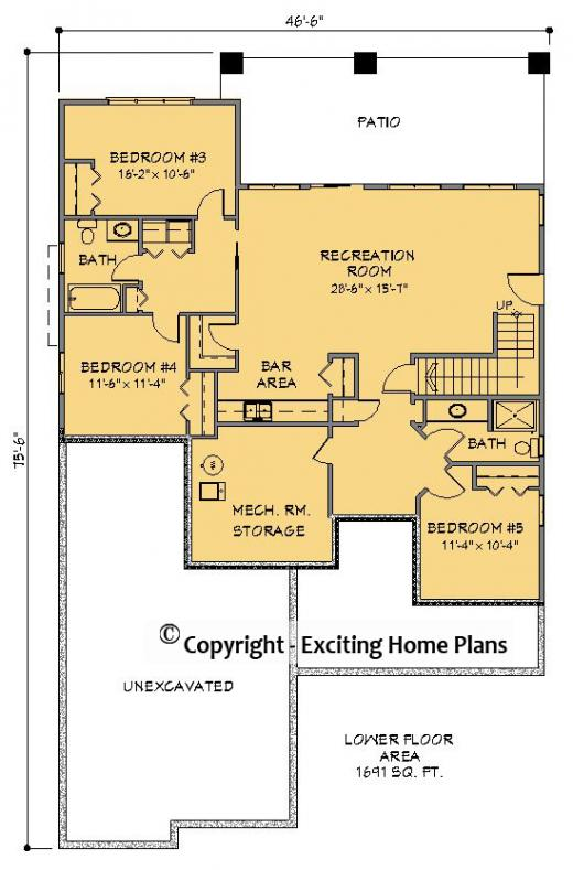 Exciting Summerhill House Plan Images Mission Floor Plan