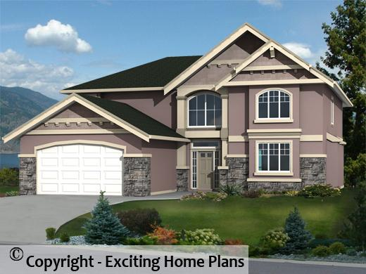 Hawthorn - Two Storey Home Design - Front View