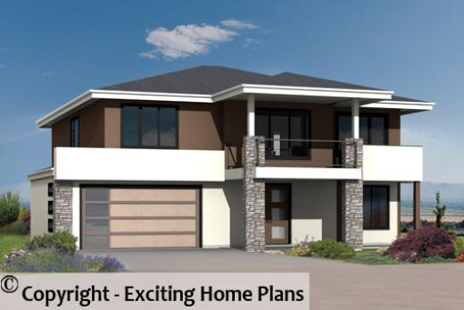 Home Designs Housing Plan & Floor Plans from Exciting Home Plans