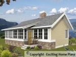 Scarletwood - Cottage –  Front View of Plan