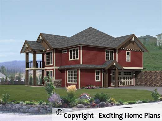 House Plan Information for E1214 10