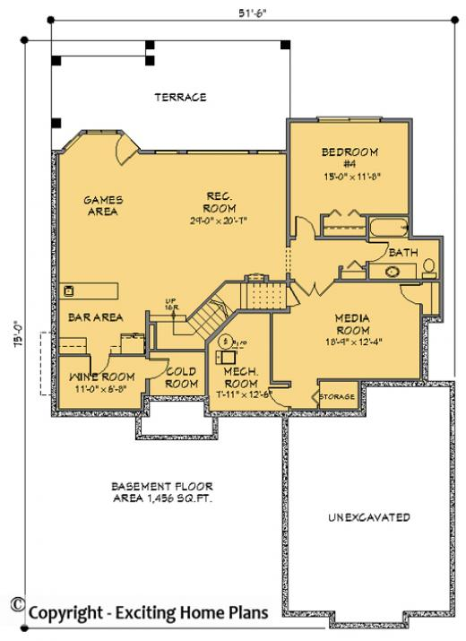 House Plan Information For E1063 10